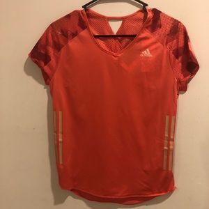 Adidas adizero climacool shirt workout pink